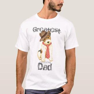 Wire Fox Terrier Dad T-Shirt