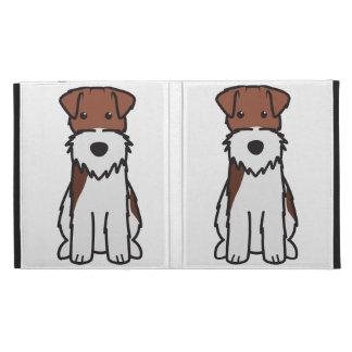 Wire Fox Terrier Dog Cartoon iPad Cases