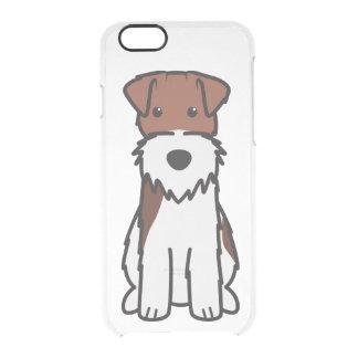 Wire Fox Terrier Dog Cartoon Clear iPhone 6/6S Case