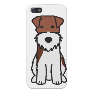 Wire Fox Terrier Dog Cartoon iPhone 5 Cases