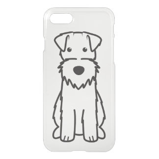 Wire Fox Terrier Dog Cartoon iPhone 7 Case