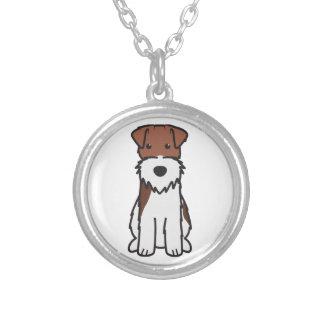 Wire Fox Terrier Dog Cartoon Necklaces