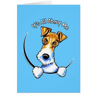 Wire Fox Terrier IAAM Greeting Card