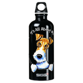 Wire Fox Terrier IAAM SIGG Traveller 0.6L Water Bottle