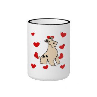 Wire Fox Terrier Love Coffee Mugs