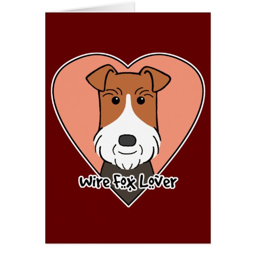 Wire Fox Terrier Lover Greeting Cards