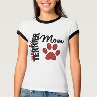 Wire Fox Terrier Mom 2 T-shirt