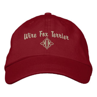 Wire Fox Terrier Mom Gifts Embroidered Hat