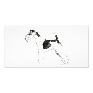 Wire Fox Terrier Photo Greeting Card