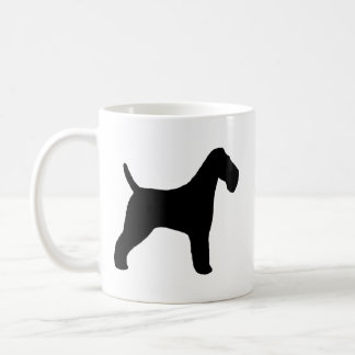 Wire Fox Terrier Silhouettes Coffee Mug