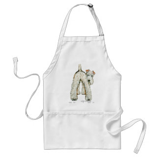 Wire Fox Terrier Tail Standard Apron