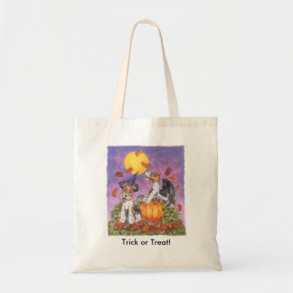Wire Fox Terrier Trick or Treat Tote