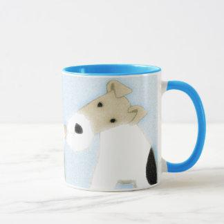 Wire Fox Terriers Mug