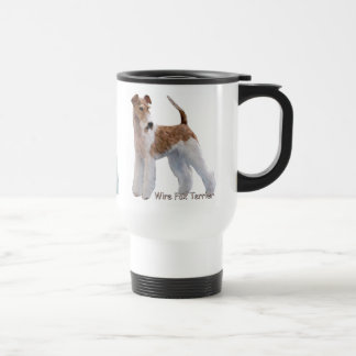 Wire Fox Terriers Travel Mug
