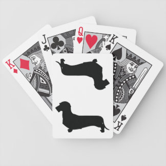 Wire Hair Dachshund Playing Cards