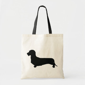 Wire Hair Dachshund Tote Bag