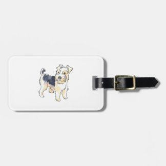 WIRE HAIR FOX TERRIER TAG FOR LUGGAGE