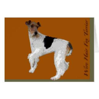 Wire Hair Fox Terrier Note Card