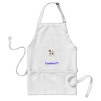 Wire Haired Fox Terrier Adult Apron