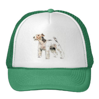 Wire Haired Fox Terrier Cap