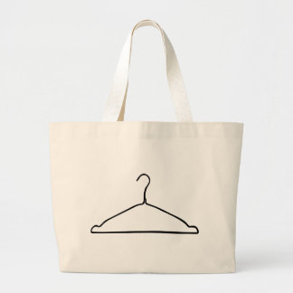 Wire Hanger Large Tote Bag