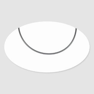 Wire leader vector illustration clip-art fishing oval sticker