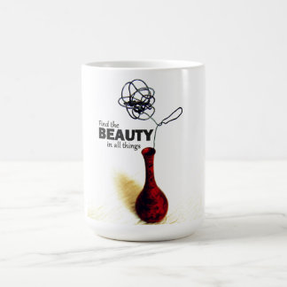 Wire Rose Find the Beauty Mug