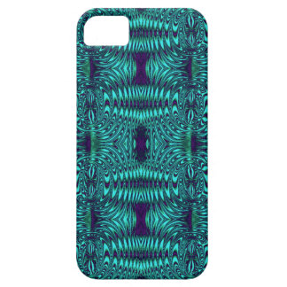 Wire Teal Modern Pattern iPhone 5 Cover
