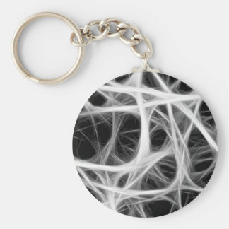 wire weave key ring