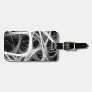 wire weave luggage tag