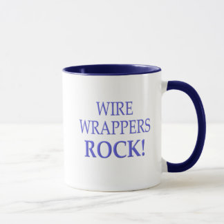 Wire Wrappers Rock, mugs