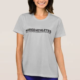 WIRED Athletes Dry-Fit Girls T-Shirt