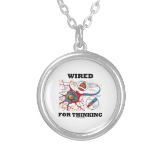 Wired For Thinking (Neuron Synapse) Necklaces