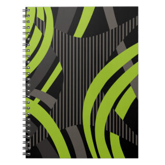 Wired Green Tote Bag Notebooks