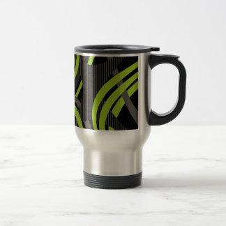 Wired Green Tote Bag Travel Mug