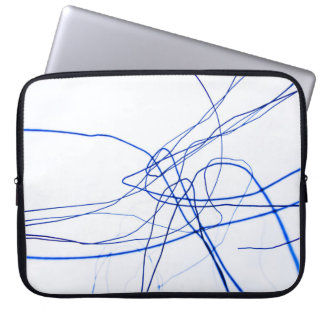 Wired laptop bag