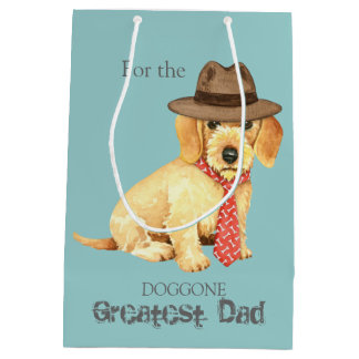 Wirehaired Dachshund Dad Medium Gift Bag
