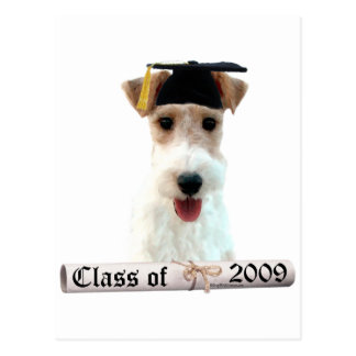 Wirehaired Fox Terrier Grad 09 Postcard