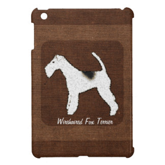 Wirehaired Fox Terrier Personalized Dog iPad Mini Cover