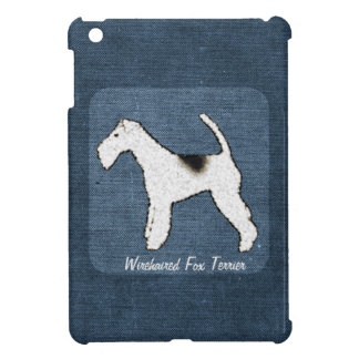 Wirehaired Fox Terrier Personalized Dog Cover For The iPad Mini