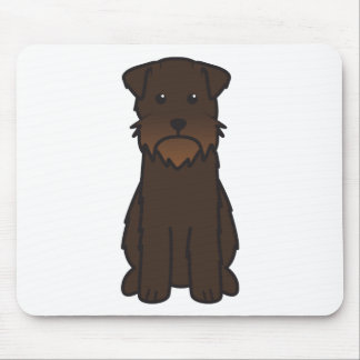 Wirehaired Pointing Griffon Dog Cartoon Mouse Pad
