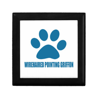 WIREHAIRED POINTING GRIFFON DOG DESIGNS GIFT BOX