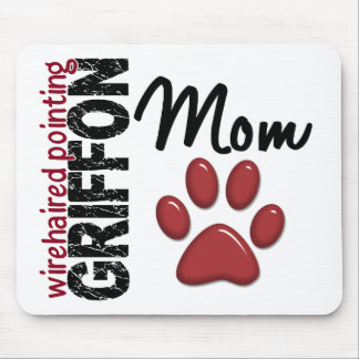 Wirehaired Pointing Griffon Mom 2 Mousepad