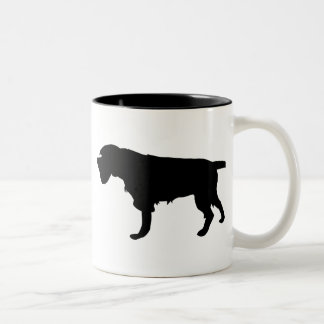 Wirehaired Pointing Griffon New Gear Two-Tone Coffee Mug