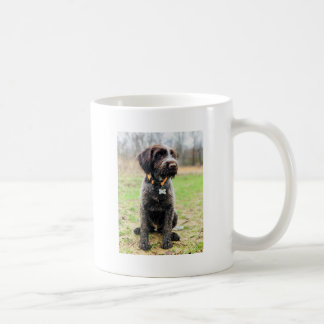 Wirehaired pointing Griffon puppy Coffee Mug