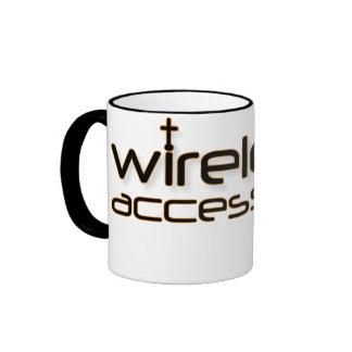 Wireless Access Christian prayer mug