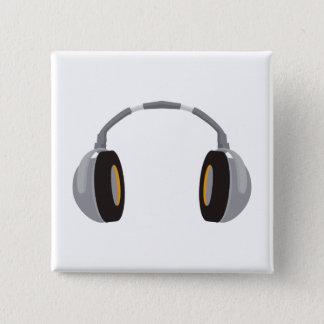 Wireless Headphone 15 Cm Square Badge