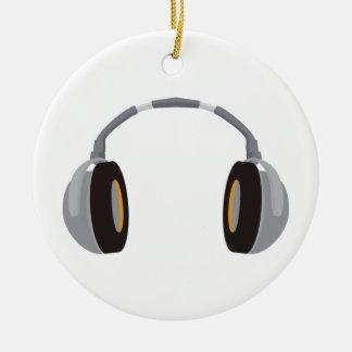 Wireless Headphone Ceramic Ornament