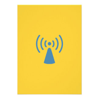 Wireless Invitaion Personalized Invitations