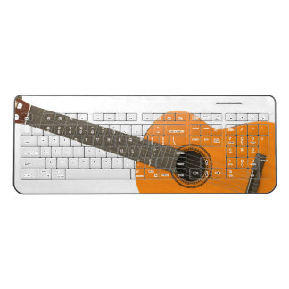 Wireless Keyboard Classical Guitar